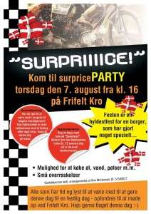 Surprice party 07 08 2014
